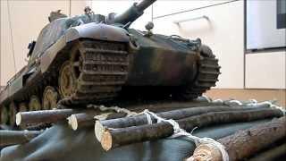 getlinkyoutube.com-King Tiger Tank Königstiger Panzer RC Tamiya