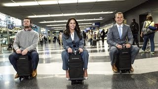 Modobag - The Suitcase you can ride on!