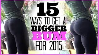 getlinkyoutube.com-15 Ways To Get A Bigger Bum