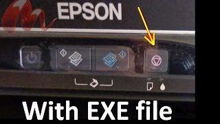 getlinkyoutube.com-Epson L110, L210, L300, L350 and L355 Blink Reset, waste ink pad counter error