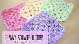 getlinkyoutube.com-CROCHET: How to crochet a granny square for beginners | Bella Coco