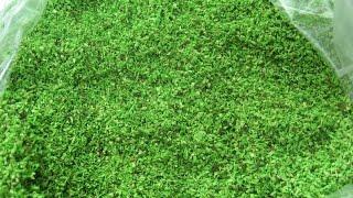 getlinkyoutube.com-How To Make  Artificial Grass for Models (home made)
