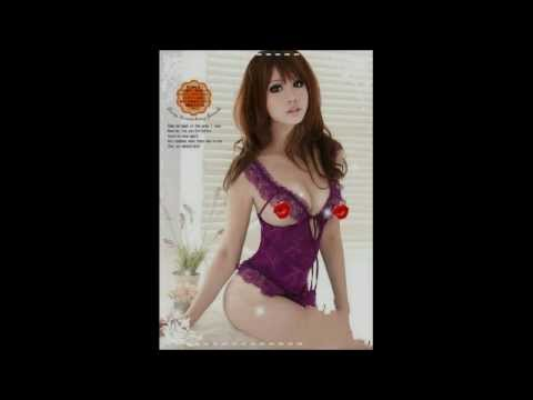 VenCouture Plus Size Purple Romantic Sexy Sling Lingerie