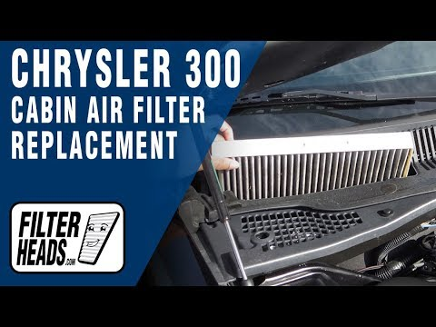 How to Replace Cabin Air Filter Chrysler 300