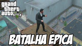 getlinkyoutube.com-GTA V - Batalha ÉPICA no céu e surto de suicídios