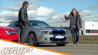 getlinkyoutube.com-NfS: Mustang Shelby GT 500 - GRIP - Folge 267 - RTL2