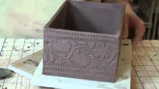 getlinkyoutube.com-Bridges Pottery Slab Construction Demo