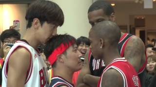 getlinkyoutube.com-RM-Lee Kwang Soo And HAHA Play Basketball