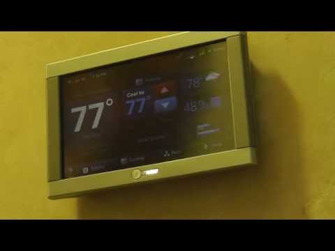 TRANE Comfortlink II Thermostat USER Review & Overview-Energy Savings