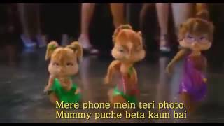 Neha Kakkar   Phone Mein Teri Photo Video Lyrics   Official Music Video   New Song Chipmunks 2016