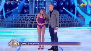 """getlinkyoutube.com-Coki Ramirez es Madonna en """"Tu cara me suena"""" - 21/05/14"""
