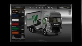 getlinkyoutube.com-Scania BDF V8 Tandem Tuning 1.18 Euro Truck Simulator 2