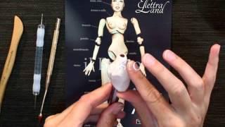 getlinkyoutube.com-OOAK Vol. 4 - BJD Ball Jointed Doll - in DVD Con Elettra Land