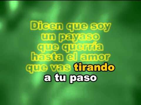 Jose Jose - Payaso Karaokes Letras Lyrics