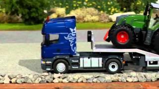 getlinkyoutube.com-Siku 6725 Scania blue truck. Radio Controlled (www.t-toys.eu)