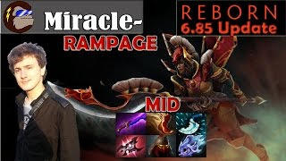 getlinkyoutube.com-Miracle - Legion Commander Midlane Pro Gameplay | with Rampage | Dota 2 MMR