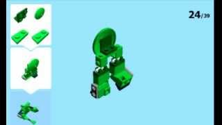Lego Brawl Transformer Instructions (not transformable)