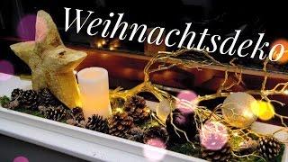 getlinkyoutube.com-Weihnachtsdeko für die Fensterbank | #Wohnprinz