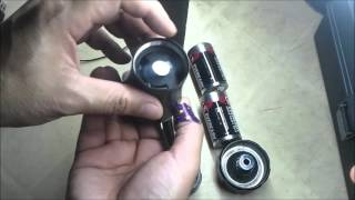 getlinkyoutube.com-DIY How to make a lightsaber hilt from a flashlight