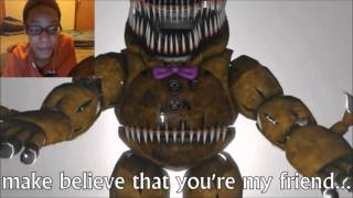 getlinkyoutube.com-[FNAF 4 SFM] This Is The End REACTION | YOU BETTER SLEEP IN YOUR ROOM