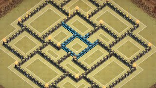 getlinkyoutube.com-Clash of Clans: NEW Townhall 10 War Base ll Centralized TH ll Early March 2015 Edition