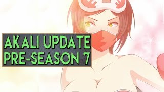 getlinkyoutube.com-AKALI UPDATE Pre-Season 7 Full Gameplay Guide - League of Legends