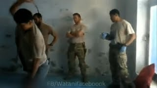 getlinkyoutube.com-Afghan army torture prisoner as US forces look on - Truthloader