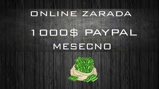 getlinkyoutube.com-Kako zaraditi i do 1000$ na paypal mesecno [LEGALNO 2016]