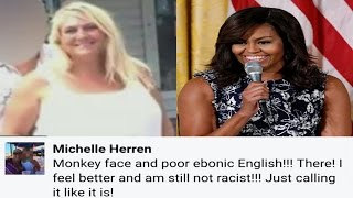 "getlinkyoutube.com-Colorado Univ Professor Calls First Lady Michelle Obama""Monkey Face""In Racist Facebook Post"