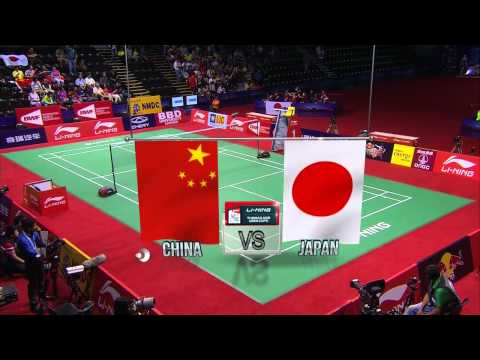 THOMAS AND UBER CUP FINALS 2014 Session 17, Match 1