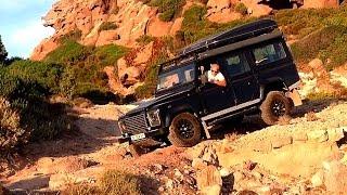 getlinkyoutube.com-Land Rover Defender Offroad trip in Sardegna part1 Jul15