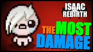 getlinkyoutube.com-THE MOST DAMAGE - Isaac Rebirth [97]