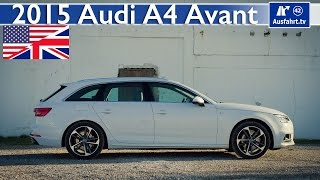 getlinkyoutube.com-2015 Audi A4 Avant B9 - Full Test, In-Depth Review and Test ( English)