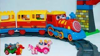 getlinkyoutube.com-Поезд мультик. Мультики про паровозики. Парк развлечений. Мультики для самых маленьких.