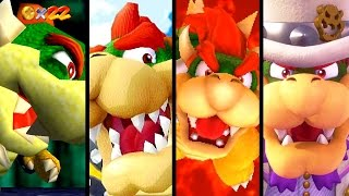 Super Mario Evolution of BOWSER in 3D Games 1997-2017 (Odyssey to N64)