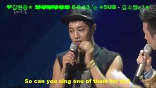(1080) ★Kim HyunJoong★Eng Sub ღ INTERVIEW★ღ 8 9 13