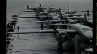 getlinkyoutube.com-Jimmy Doolittle Japan Raid, B-25 Mitchell Bomber, 1942