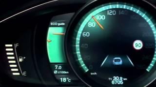 getlinkyoutube.com-New Volvo V40 2012 - Active TFT Display at instrument cluster