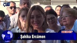 Kepez'de Şahika Ercümen Parkı Açıldı