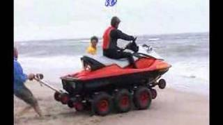 getlinkyoutube.com-1. JetTrax 1x6 - launching your jetski in less than 30 sec.