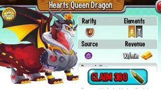 getlinkyoutube.com-Dragon City - Hearts Queen Dragon [Vampire Island - Walkthought Part 1]