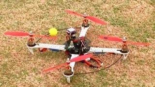 getlinkyoutube.com-APM 2.6 SK-450 Quadcopter with 2836 750kv motors and UBEC 30a ESCs. Good combination.