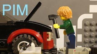 getlinkyoutube.com-Lego Pim at the car repair shop