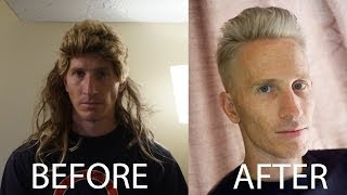 getlinkyoutube.com-Adam Levine inspired Titanium Silver Hair Tutorial // Celebrity Hairstyles