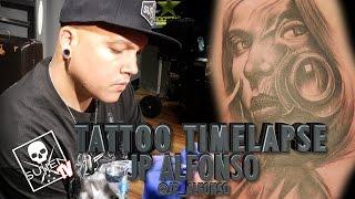 getlinkyoutube.com-Tattoo Time Lapse - Jp Alfonso
