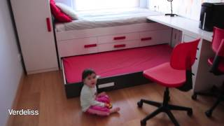 getlinkyoutube.com-TOUR CASA NUEVA - Dormitorio niños / NEW HOUSE TOUR - Boys room