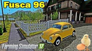 getlinkyoutube.com-Farming Simulator 17 - Comprei Um Fusca 96 e vendendo ovos