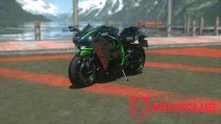 getlinkyoutube.com-Kawasaki Ninja H2 - Driveclub Test Drive - Gameplay Playstation 4