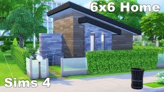 Tiny Home - Sims 4 House Build (6x6 challenge)