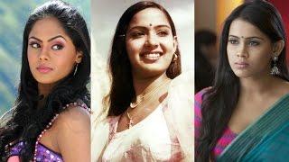 getlinkyoutube.com-Radha's Daughters Karthika Nair  and Thulasi Nair Under Struggling Phase